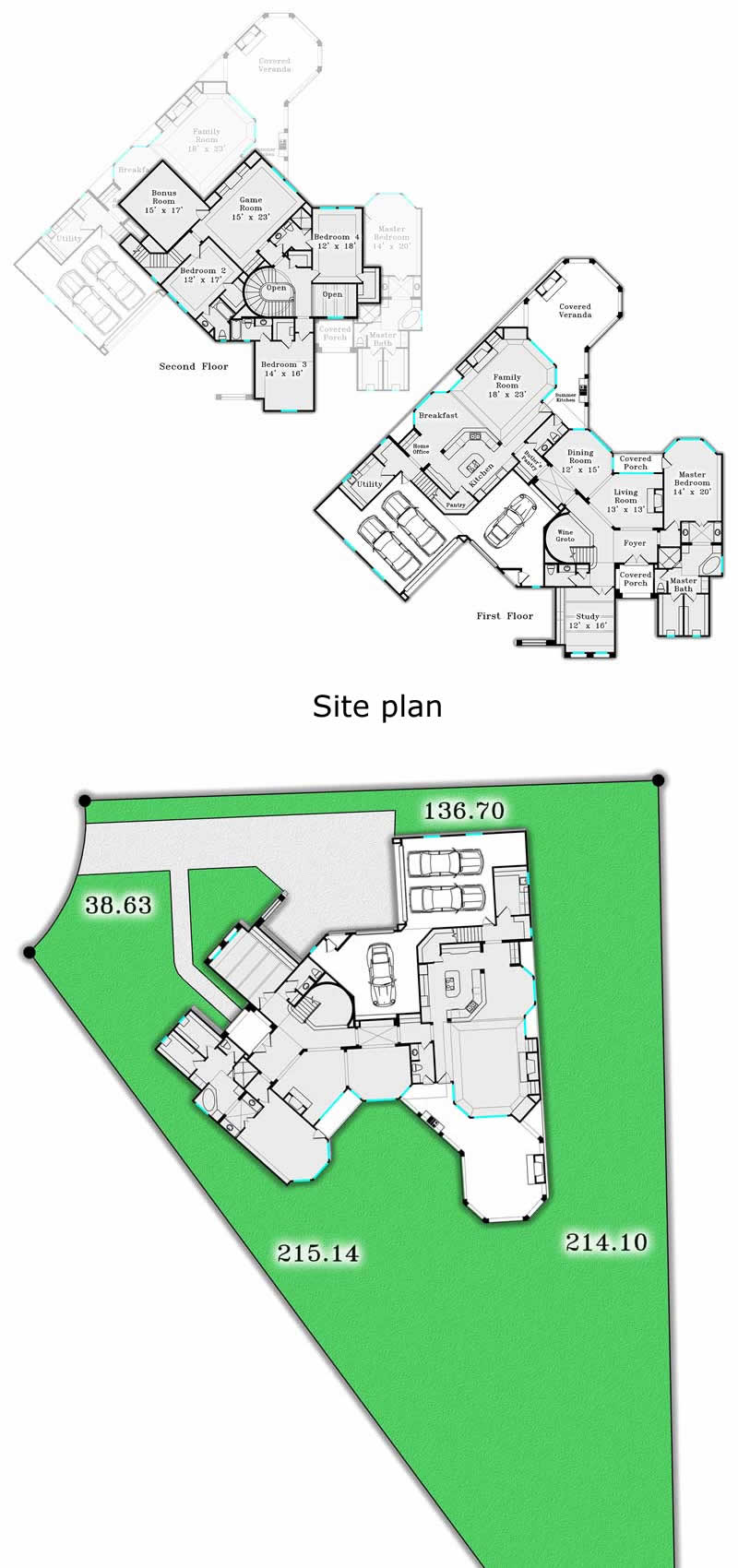 4 500 Sq Ft Plans Marshall Building